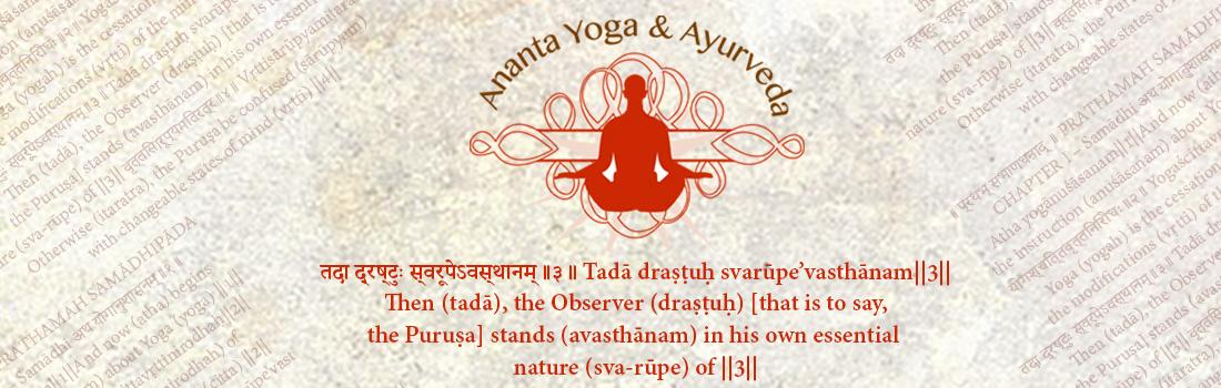 Ananta Yoga and Ayurveda Wicklow Ireland