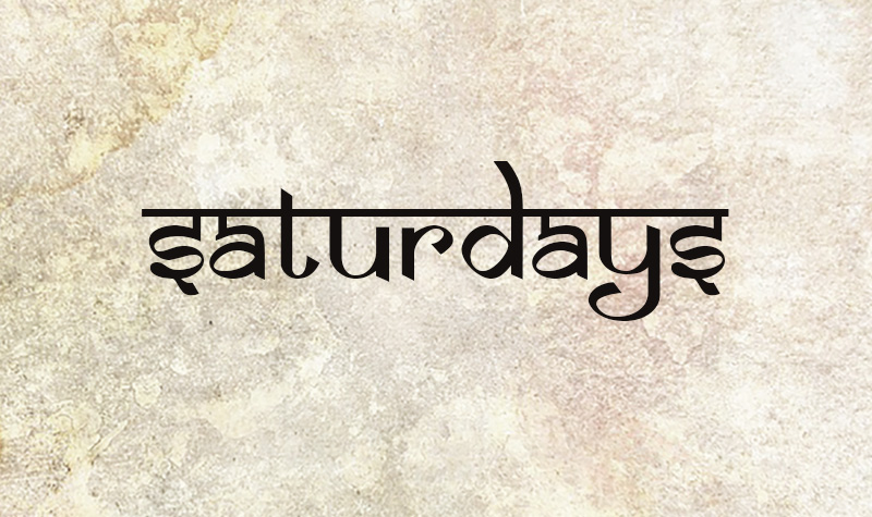 Saturdays at Ananta Yoga and Ayurveda